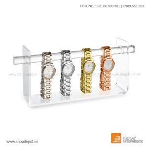 Kệ mica trưng bày đồng hồ