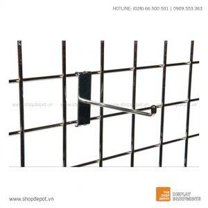 Móc đơn cài khung lưới Gridwall (4)