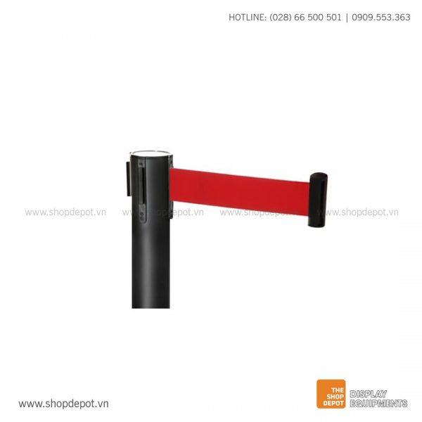 Trụ chắn dây kéo - Đỏ